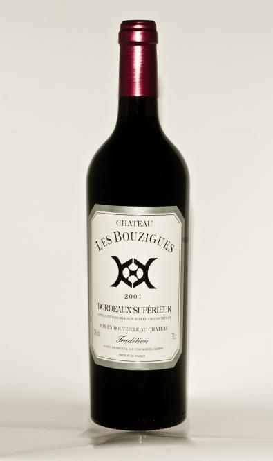 """Château les Bouzigues """"Tradition"""" 2001"""