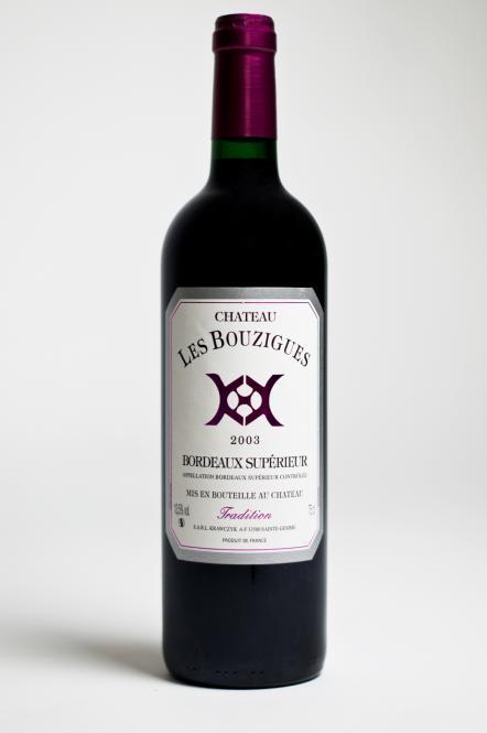 """Château les Bouzigues """"Tradition"""" 2003"""